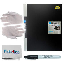 Itoya Art Profolio (18 x 24) 24 Pages for 48 Views + Gloves + Sharpie Marker