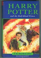Harry Potter and the Half-Blood Prince by J.K.Rowling British Hardcover 1st Ed.
