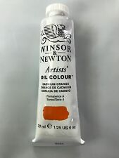 Winsor & Newton Artists' Oil Colour Series 4 37ml 1.25 Cadmium Orange NEW