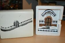 "Department 56 Heritage Village ""Churchyard Fence Gate"" Set of 3 #5563 In Box"