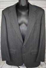 Mark Shale Gray Checks Blazer Sports Coat Jacket Two Button Mens Size 44R