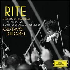 Gustavo Dudamel - Rite: Le Sacre Du Printemps / Noche de los Mayas [New CD]