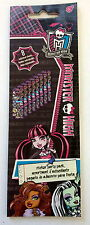 8 Sheets Monster High Stickers Party Favors Teacher Supply