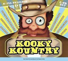 Various Artists K-Tel Presents: Kooky Kountry CD