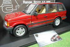 LAND ROVER RANGE 4.6 HSE 4x4 rouge red 1/18 AUTOart 70012 voiture miniature
