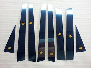 Stainless Door Pillar Post 8p For 2003 2004 2005 SsangYong Rexton