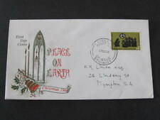 1966 Peace on Earth  Christmas Australia FDC FDI First Day of Issue Stamp Cover
