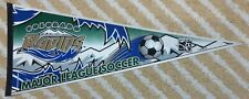 Colorado Rapids Full Size MLS soccer Pennant first year dated 1996