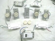 Set of 10 Electrical Dimmers Switches Knob Slide Dimmers Lutron