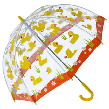Bugzz PVC Dome Umbrella for Children (New Design) - Quacky Ducks