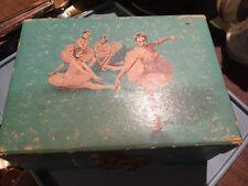 Vintage Ballerina Jewelry Box, No Key