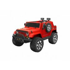 Kids Electric Ride On Go Skitz 12V Jeep Style Red