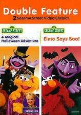 Sesame Street - A Magical Halloween Adventure/Elmo Says Boo (DVD, 2014, 2-Discs)