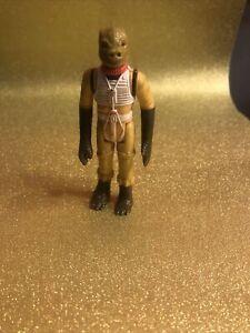 Vintage 1980 Kenner Star Wars Figure Complete Rare ESB Bossk Bounty Hunter HK