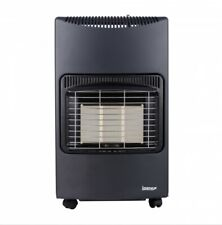 Igenix Portable Freestanding Gas Heater On Wheels 4.2KW Black IG9420BL