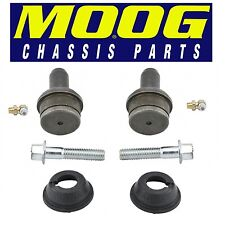 For Ford E-250 Pair Set of 2 Front Upper Press-in Type Ball Joints Moog K80196