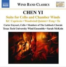 Chen Yi: Suite for Cello & Chamber Winds, New Music