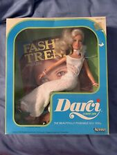 Vintage 1979 Darci Cover Girl Doll by Kenner White Dress