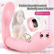 Female Invisible Wearable Butterfly Watch Remote Control Super Vibrator in Panty