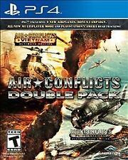AIR CONFLICTS VIETNAM + PACIFIC CARRIERS PS4 NEW! 2 GAMES! AIR COMBAT BATTLE WAR