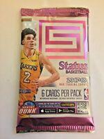 2017-18 Panini Status NBA Basketball Factory Sealed Hobby Pack - 6 Cards Tatum?
