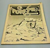 PorkPie Magazine #1 1976 CHARLES G. OLDHAM VINTAGE CANNABIS CULTURE ARTWORK