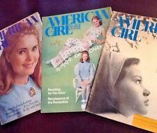 AMERICAN GIRL Scout MAGAZINES x 3: Jan, Mar, June 1969 Tricia Nixon Collectors