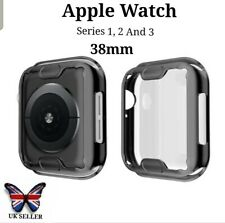 Apple Smart Watch Black Screen protector Protective Case Face Cover S 123. 38mm
