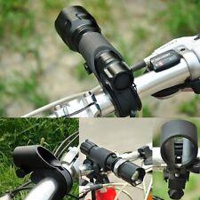 Bike Cycle Bracket Holder Bicycle Light Front LED Torch Flashlight Mount
