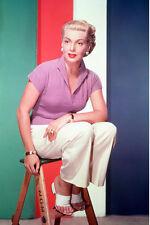 Lana Turner on stool elegant 11x17 Mini Poster