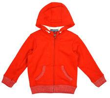 Sweats et vestes à capuche rouge en polyester pour garçon de 2 à 16 ans