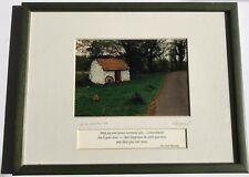 An Irish Blessing Framed Matted Rick Henderson Photograph Irish Countryside