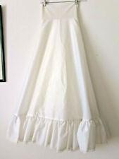 Vintage wedding dress underskirt petticoat womens' tulle satin costume gorgeous!