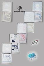 Completo lenzuola+copertina per culla o lettino made in Italy Nazareno Gabrielli