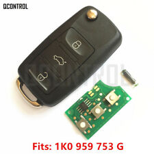 Remote Key fob for VW VOLKSWAGEN 1K0959753G 5FA009263-10 Keyless Entry 434MHZ