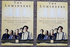 2 Flyers - The Lumineers - III  World Tour - 24th Nov 2019  Manchester Arena -