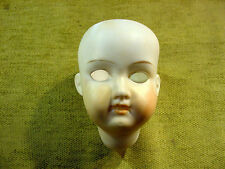 faded painted bisque socket Doll head Armand Marseille Nr 390 excavated Art8279