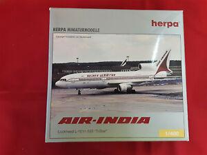 1:400 NG Model AIR INDIA Lockheed L-1011-500 Passenger Airplane Diecast Model