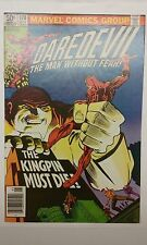 Daredevil #170 1st Kingpin n Daredevil (9.8 NM/MT White/Pages) Newsstand Edition