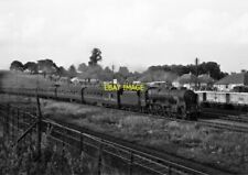 PHOTO  LMS ROYAL SCOT LOCO NO 46154 THE HUSSAR AT LEIGHTON BUZZARD ON 4TH SEPT 1