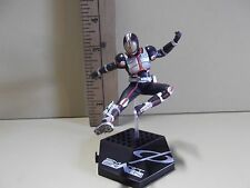 "#A345 Kamen Rider Anime 4""in Black, Red & Silver Uniform Doing Kick in Air"