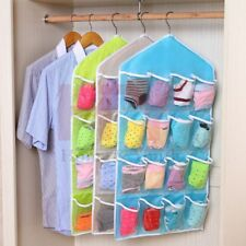 Hanging Shoe Organizer 16 Pockets Over the Door Storage Bag Holder Rack Closet a