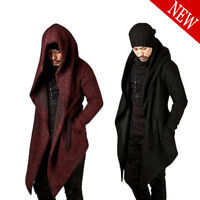 Fashion Men's Cardigan Hoodie Hooded Long Sleeve Coat Jackets Overcoat Outwear