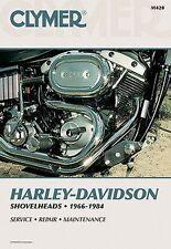 Harley Davidson Shovelhead FL FLH FX FXB FXE FXS FXWG Clymer Handbuch M420 NEU
