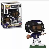Lamar Jackson (Baltimore Ravens) NFL Funko Pop! Series 7 With Protector