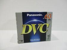 5 Panasonic Mini Digital Video Tape DVC SP 60 Min LP 90 Min (5 PACK) NEW