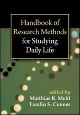 Handbook of Research Methods for Studying Daily Life (2011, Hardcover)