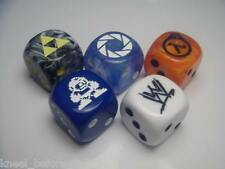 Chessex Dice Lot 16mm 6 sided Dice RPG D&D CUSTOM PLEASE READ THE DESCRIPTION