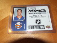 2017-18 UPPER DECK MVP NHL PLAYER CREDENTIALS ANDERS LEE LEVEL 1