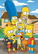 The Simpsons Poster, Bart Marge Homer, Quality Large, FREE P+P, CHOOSE YOUR SIZE